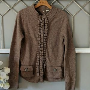 Anthropologie Moth Floating Spark cardigan sweater